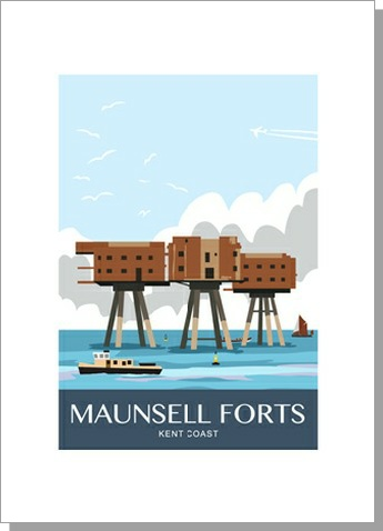 Maunsell Sea Forts, Portrait