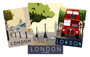 London - Greeting Cards