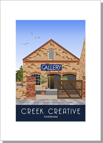 Creek Creative Art Gallery and Cafe, Faversham