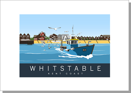 Whitstable Fishing Boat, Landscape