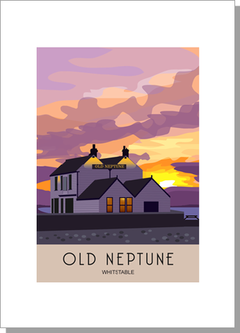 Whitstable Old Neptune Sunset